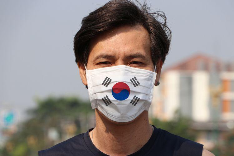 Ilustrasi virus corona Korea Selatan