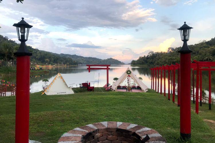 Objek wisata camping di Jogjakarta, Sermo Glamoour Camp
