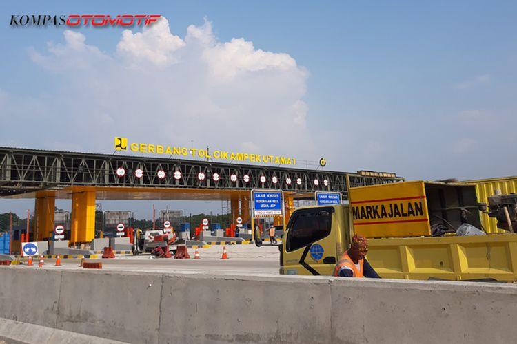 Gerbang Tol Cikampek Utama I di KM 70