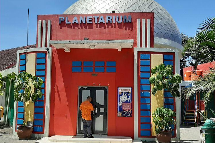 Planetarium di Taman Pintar Yogyakarta yang pernah di kagumi oleh Bacharuddin Jusuf (BJ) Habibie, Kamis (12/9/2019).