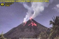 Gunung Karangetang Terus Keluarkan Lava