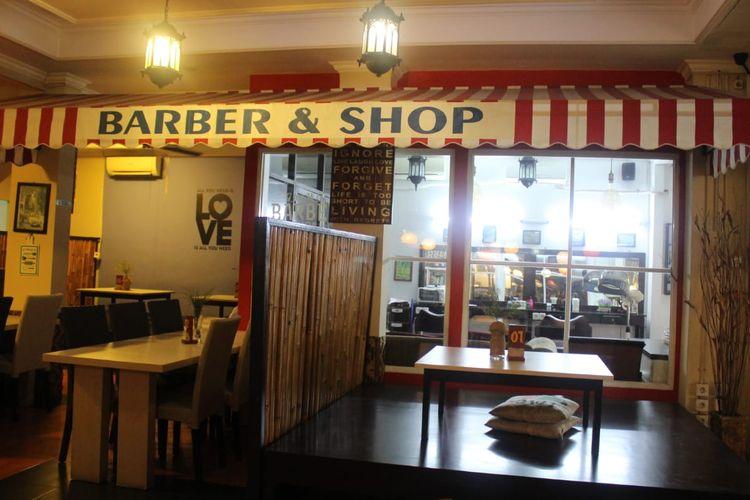 Barbershop di ghaWil Cafe and Coffe.