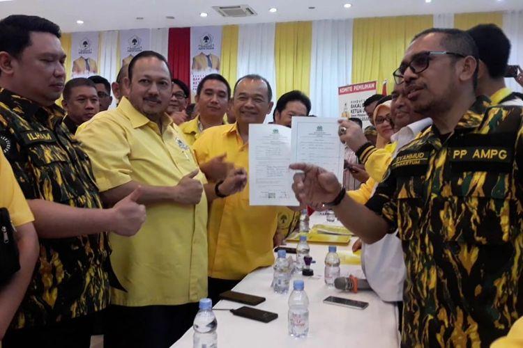 Tim Airlangga Hartarto Ambil Formulir Bakal Calon Ketum Partai Golkar