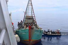 TNI AL Tangkap Kapal Asing Berbendera Taiwan di Laut Natura Utara