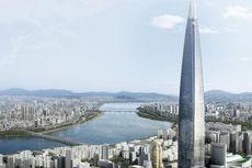 Sah, Lotte World Tower Terjangkung Kelima di Dunia