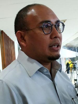 Wakil Sekretaris Jenderal Partai Gerindra, Andre Rosiade, di Kompleks Parlemen, Senayan, Jakarta, Rabu (4/12/2019).