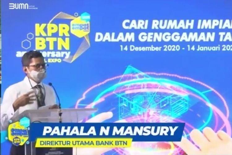 PT Bank Tabungan Negara (Persero) Tbk atau BTN menggelar KPR BTN Anniversary Virtual Expo 2020 selama satu bulan mulai 14 Desember 2020 hingga 14 Januari 2021.