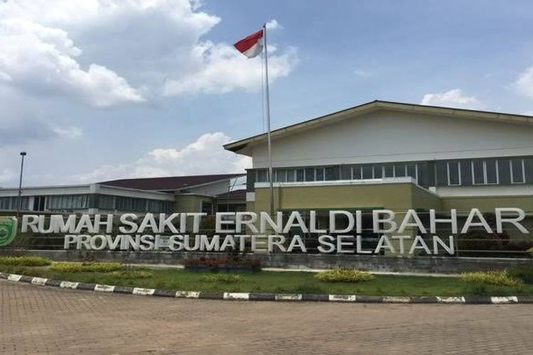 Rumah Sakit Ernaldi Bahar Provinsi Sumatera Selatan yang berada di Jalan Tembus Terminal KM.12 , Talang Kelapa, Alang Alang Lebar, Kota Palembang.