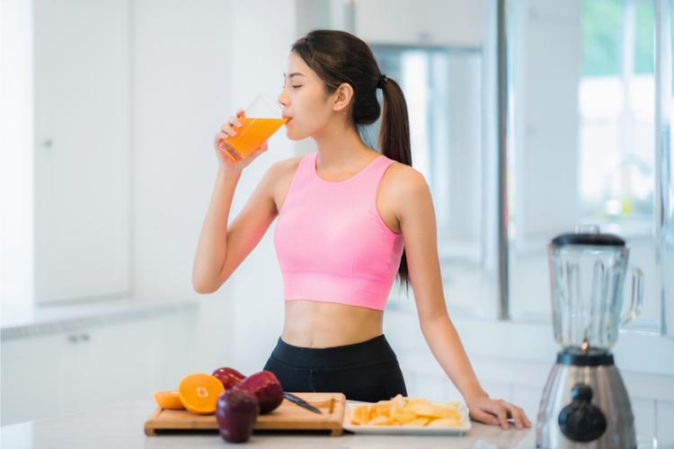 Ilustrasi diet sehat untuk menurunkan berat badan.
