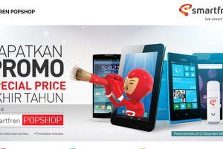 Situs e-commerce POP Shop milik Smartfren