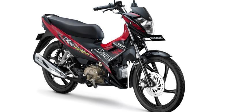 Mesin 115 cc terbaru dengan teknologi rendah gesekan, diklaim irit bahan bakar.