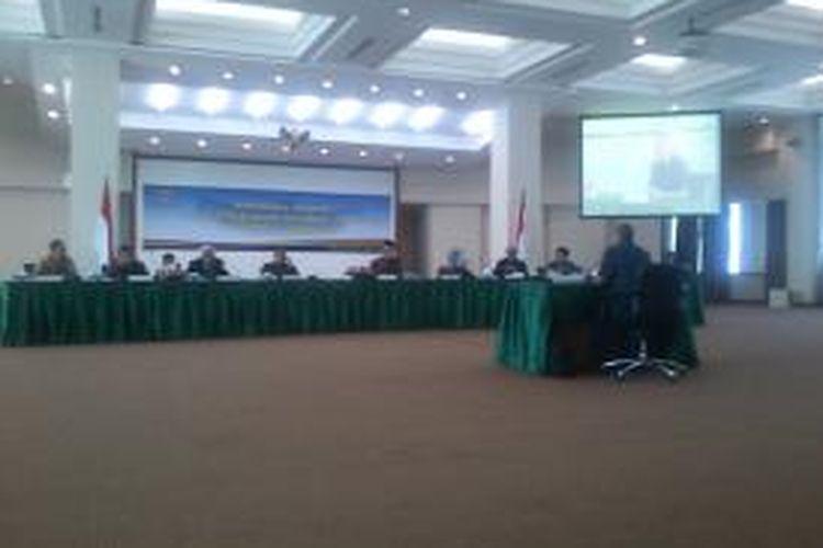 Seleksi Calon Hakim Agung di Komisi Yudisial Jakarta, Jumat (26/7/2013).