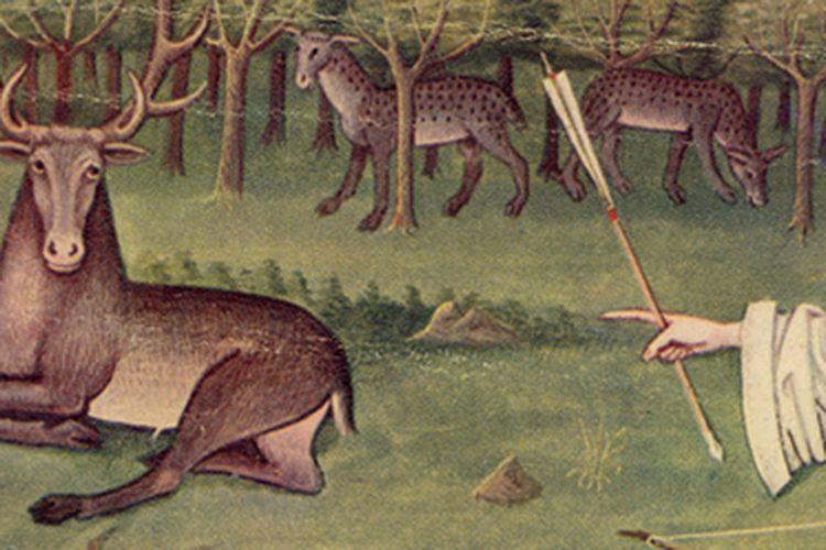 Lukisan kegiatan berburu