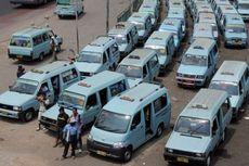 Pembatasan Penumpang dan Jam Operasional Angkutan Umum Selama PSBB Ketat