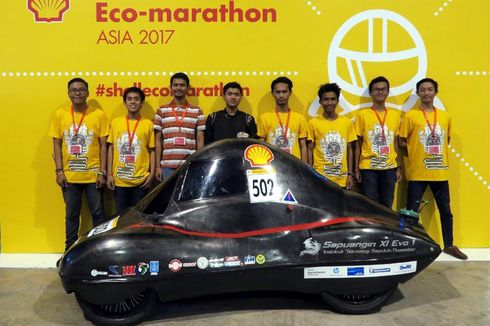 "Mobil Hemat Energi Mahasiswa Indonesia ""Go International"""