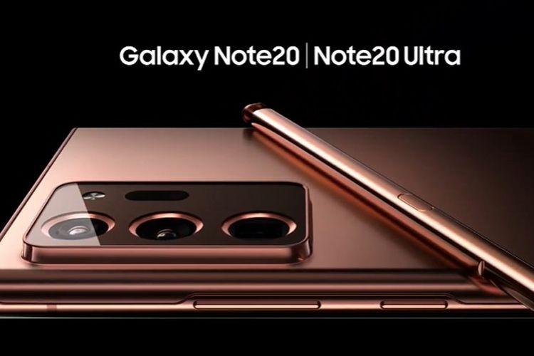 Galaxy Note 20 Ultra resmi diperkenalkan