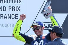 Menanti Podium Ke-200, Rossi Pesimistis Sambut Aragon dan Valencia