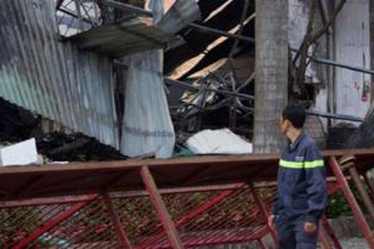 Setidaknya 15 pabrik milik perusahaan asing di bakar di Vietnam