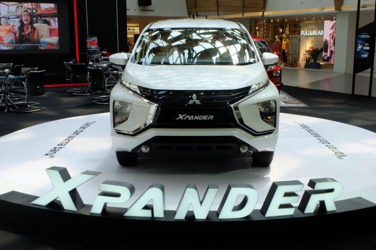 Varian baru Mitsubishi Xpander muncul di Bandung
