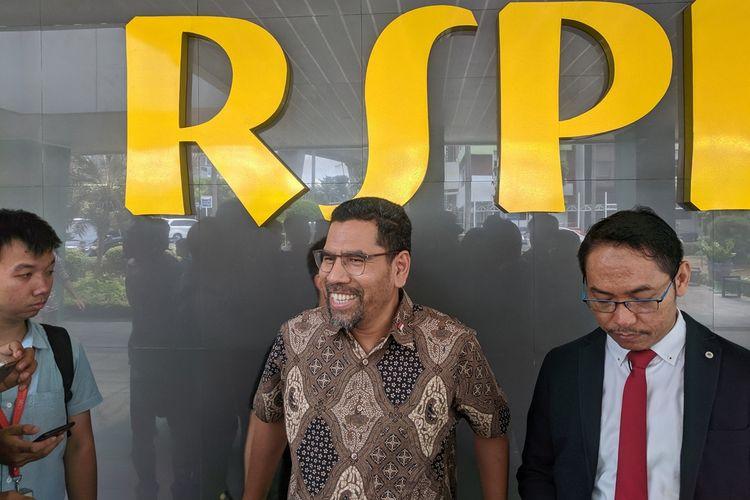 Komisioner Komnas HAM Amirudin saat menyambangi RSPP, Jakarta Selatan, Rabu (25/9/2019).