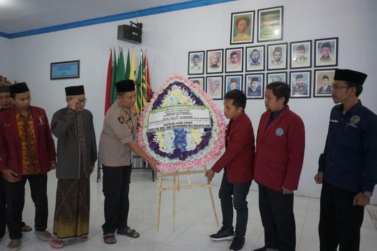 Ambariyadi menemui PD Muhammadiyah , PP Muhammadiyah, BEM dan IMM Kota Probolinggo.