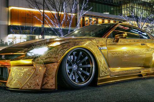 NMAA Bikin Kejutan, Bawa Mobil Berlapis Emas