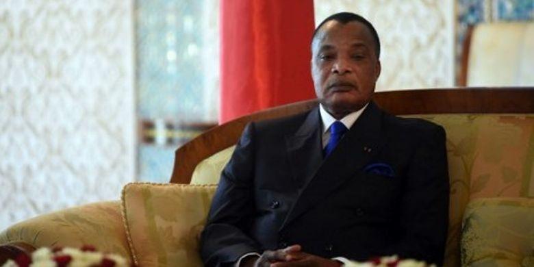 Presiden Republik Kongo Denis Sassou-Nguesso  (AFP)