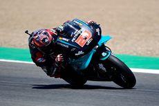 Posisi Start MotoGP Andalusia: Quartararo Terdepan, Rossi di 5 Besar