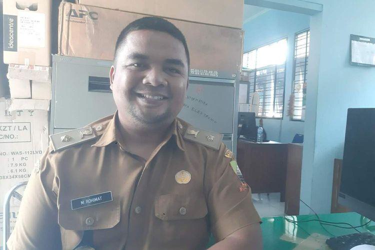 Kepala Bidang Informatika pada Dinas Komunikasi dan Informatika, Persandian dan Statistik Kabupaten Sumedang Mamat Rohimat. AAM AMINULLAH/KOMPAS.com