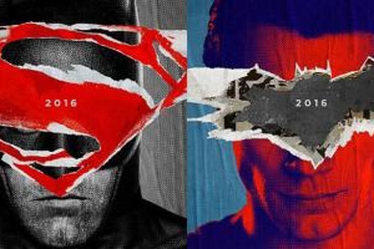 Poster Batman v Superman: Dawn of Justice (2016) resmi dirilis Warner Bros. Pictures