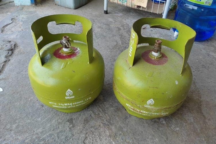Warna merah pada tabung LPG Pertamina