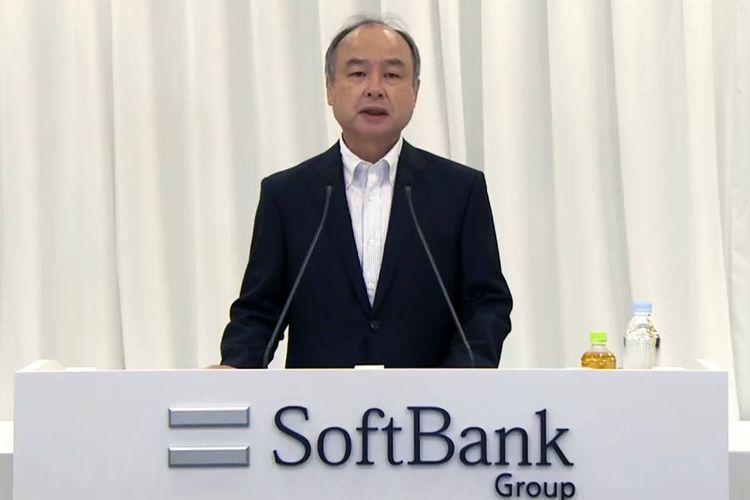 CEO SoftBank Group Masayoshi Son.