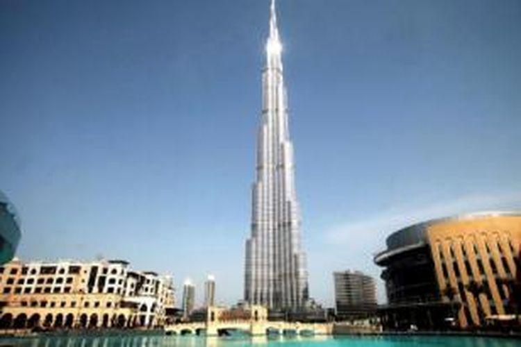 Burj Khalifa, Dubai, uni Emirat Arab.