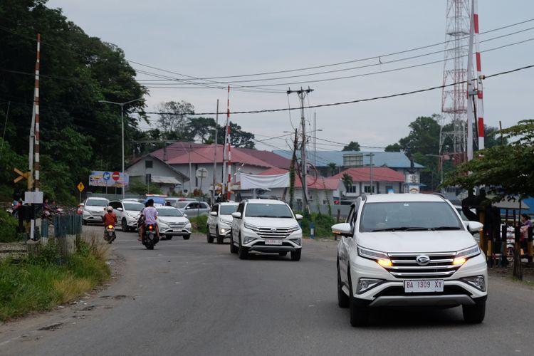 All New Terios test drive di Padang.