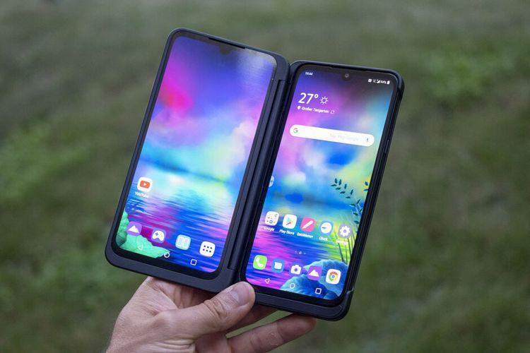 LG G8X ThinQ dapat menjadi ponsel lipat dengan layar tambahan.