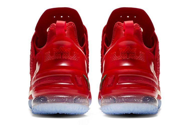 Nike LeBron 18 X-Mas in LA