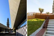 Praca de Lisboa, Kecantikan Taman Kota Tiga Tingkat