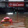 [POPULER JABODETABEK] Ragam Berita Banjir di Jakarta dan Pernyataan Gubernur Anies Baswedan