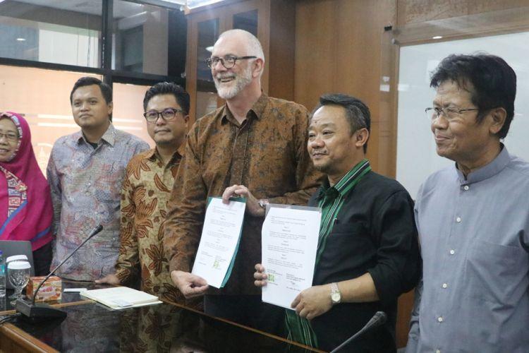 Perjanjian kerjasama Muhammadiyah dan INOVASI, September 2018.