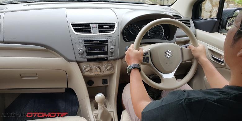 Sensasi berkendara Ertiga Diesel Hybrid