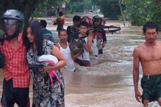 Bengawan Solo Siaga I, Warga 4 Daerah di Jatim Diimbau Waspada