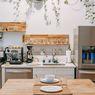 Cara Mendekorasi Dapur dengan Warna Merah Muda Namun Tetap Elegan