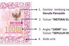 Mengenal Meterai Elektronik Rp 10.000
