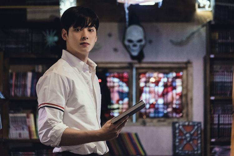 Cha Eun Woo dalam drama True Beauty.