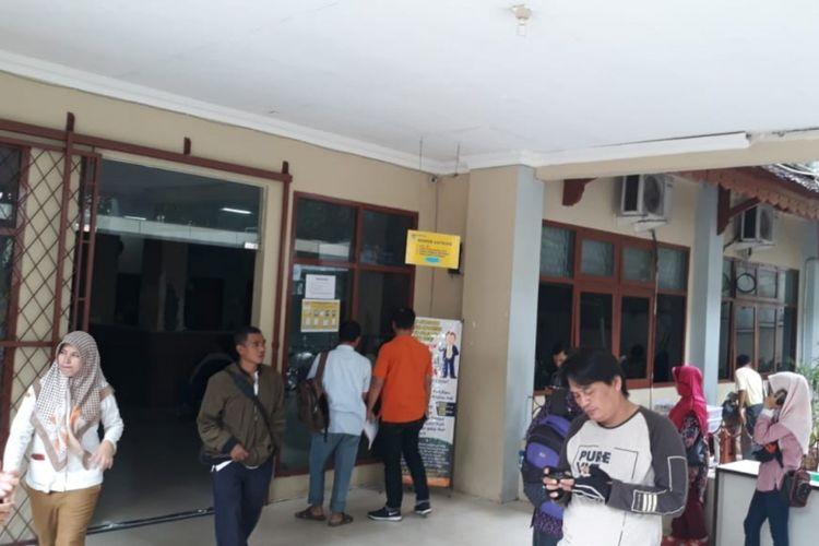 Suasana di kantor Disdukcapil Kota Bekasi, Selasa (6/11/2018).