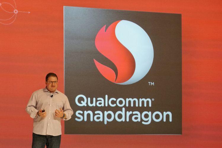 Executive Vice President Qualcomm, Cristiano Amon, di acara Qualcomm Snapdragon Summit 2017 di Maui, Hawaii, Amerika Serikat, Rabu (6/12/2017).
