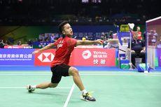 Semifinal Asian Games, Anthony Akui Kento Momota Pintar Cari Celah