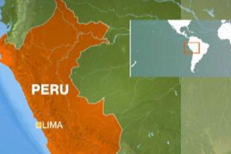 Peta Peru