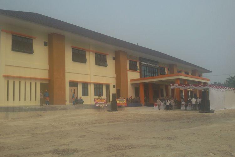 RS Bhayangkara yang baru diresmikan di Pangkal Pinang, Kepulauan Bangka Belitung, Rabu (18/9/2019).