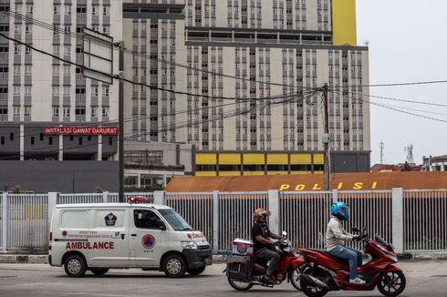 Tingkat Hunian Rumah Sakit Darurat Covid-19 Kemayoran 58,49 Persen